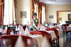 Kuren in Tschechien: Restaurant im SPA Hotel Dvorak in Karlsbad Karlovy Vary