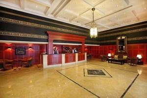 Kuren in Tschechien: Lobby im SPA Hotel Dvorak in Karlsbad Karlovy Vary