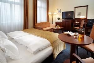 Kuren in Tschechien: Zimmerbeispiel im Hotel Excelsior in Marienbad Marianske Lázne