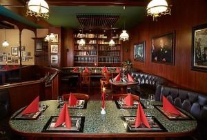 Kuren in Tschechien: Pub im Hotel Excelsior in Marienbad Marianske Lázne