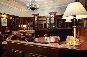 Kuren in Tschechien: Lobbybar vom Hotel Excelsior in Marienbad Marianske Lázne