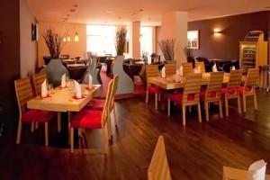 Kuren in Tschechien: Speisesaal im Kurhotel Felicitas in Podebrady Podiebrad