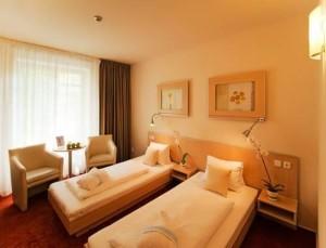 Kuren in Tschechien: Weiteres Zimmerbeispiel im Kurhotel Felicitas in Podebrady Podiebrad