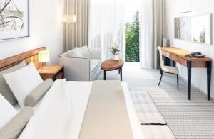 Kuren nach Polen: Weitere Zimmeransicht im Hotel Grand Lubicz in Ustka Stolpmünde