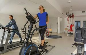 Kuren Polen: Fitness im Hotel Grand Lubicz in Ustka Stolpmünde