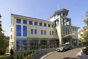 Kuren in Polen: Blick auf das Kur- und Wellnesshotel Haffner in Zoppot Sopot Ostsee