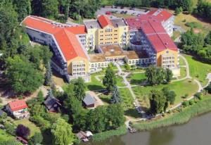 Kuren in Deutschland: Blick auf das Medical-Wellness-Zentrum in der Klinik am Haussee