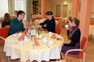 Kuren in Deutschland: Speiseraum im Medical-Wellness-Zentrum in der Klinik am Haussee
