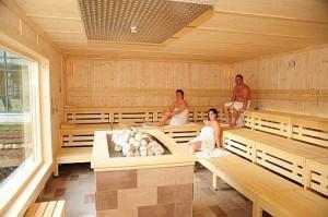 Kuren in Deutschland: Sauna in der Eichsfeld-Terme - Heilbad Heiligenstadt