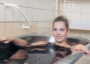 Kuren in Tschechien: Moorbad im Kurhotel Imperial in Franzensbad Frantiskovy Lázne