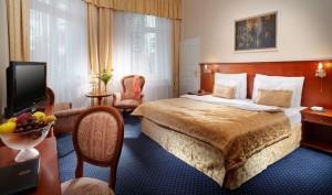Kuren in Tschechien: Wohnbeispiel Komfort im Kurhotel Imperial in Franzensbad Frantiskovy Lázne