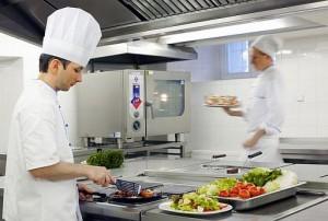 Kuren in Tschechien: Küche im Kurhotel Imperial in Franzensbad Frantiskovy Lázne