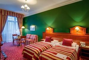 Kuren in Tschechien: Weitere Zimmeransicht vom Hotel Imperial in Karlsbad (Karlovy Vary)