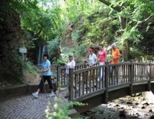 Kuren in Deutschland Nordic Walking im Kurpark - Hotel Am Jüdenhof - Heilbad Heiligenstadt Deutschland