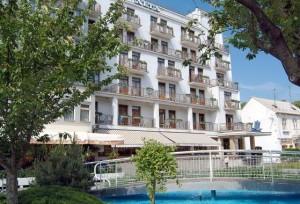 Kuren in der Slowakei: Blick auf das Jalta Ensana Health Spa Hotel in Piestany Pistyan