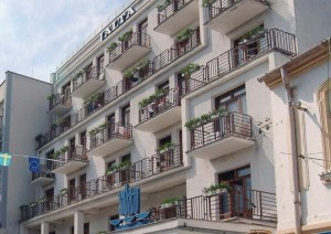 Kuren in der Slowakei: Weitere Außenansicht vom Jalta Ensana Health Spa Hotel in Piestany Pistyan