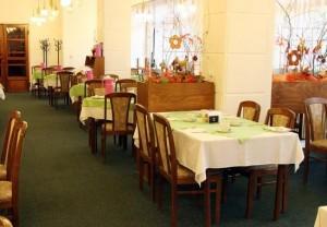 Kuren in der Slowakei: Speiseraum im Jalta Ensana Health Spa Hotel in Piestany Pistyan