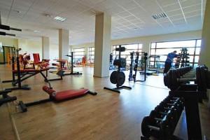 Kuren in Polen: Fitnessraum im Wellnesshotel Sandra SPA Karpacz in Krummhübel