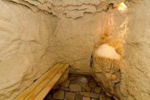 Kuren in Ungarn: Eisgrotte im Hotel Karos SPA in Zalakaros