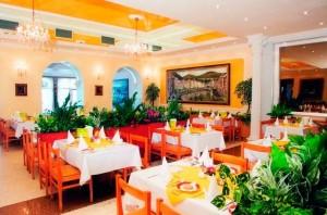 Kuren in Tschechien: Weiteres Restaurant im Kurhaus Kriván in Karlsbad Karlovy Vary Westböhmen