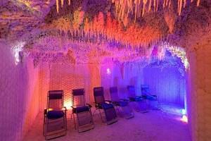 Kuren in Ungarn: Salzgrotte im Lotus Therme Hotel und Spa in Heviz