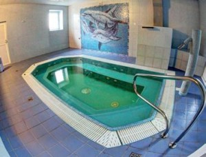 Kuren in Polen: Salzbad im Hotel Magnolia 2 in Bad Flinsberg Swieradów Zdrój