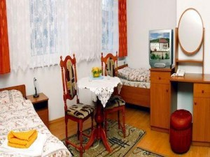 Kuren in Polen: Zimmerbeispiel im Hotel Magnolia 2 in Bad Flinsberg Swieradów Zdrój