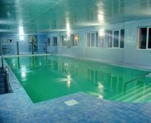Kuren in Polen: Hallenbad im Hotel Magnolia 1 in Bad Flinsberg Swieradów Zdrój Isergebirge