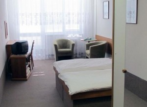 Pistyan Kuren in der Slowakei: Wohnbeispiel im Kurhotel Maj in Piestany Pistyan