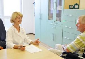 Kuren in der Slowakei: Arztbesuch im Kurhotel Maj in Piestany Pistyan