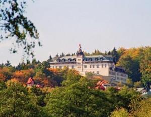 Kuren in Tschechien: Herbstimpressionen des Hotel Monty in Marienbad Mariánske Lázne