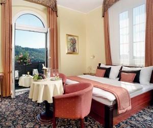 Kuren in Tschechien: Wohnbeispiel im Hotel Monty in Marienbad Mariánske Lázne