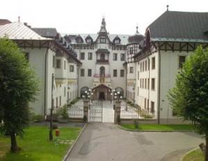 Kuren in Tschechien: Eingangsbereich vom Hotel Monty in Marienbad Mariánske Lázne