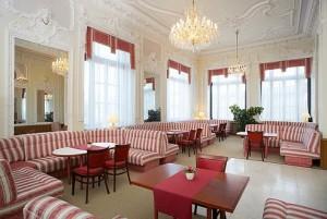 Kuren in Tschechien: weiteres Restaurant im Hotel Monty in Marienbad (Mariánske Lázne)