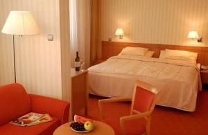 Kuren in der Slowakei: Wohnbeispiel im Kurkomplex Spa Hotel Grand Splendid in Piestany Pistyan