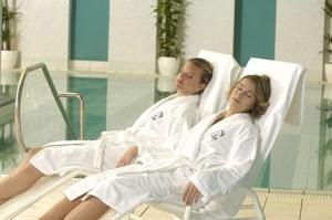 Kuren in der Slowakei: Ruhebereich im Kurkomplex Spa Hotel Grand Splendid in Piestany Pistyan