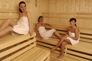 Kuren in der Slowakei: Sauna im Kurkomplex Balnea Esplanade in Piestany Pistyan