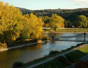 Kuren in der Slowakei: Blick auf die Umgebung des Hotel Park in Piestany Pistyan