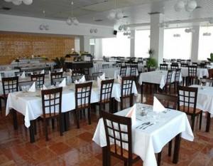 Kuren in der Slowakei: Speiserestaurant im Hotel Park in Piestany Pistyan