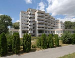 Kuren in der Slowakei: Blick auf das Hotel Park in Piestany Pistyan