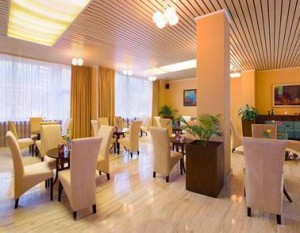 Kuren in der Slowakei: Cafe im Hotel Park in Piestany Pistyan