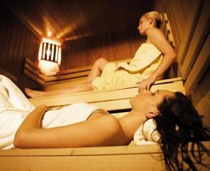 Kuren in der Slowakei: Sauna im Kurhaus Pax in Trencianske Teplice