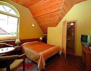 Kuren in Polen: Zimmeransicht im Dachgeschoss des Hotel Polaris 2 in Swinemünde Swinoujscie