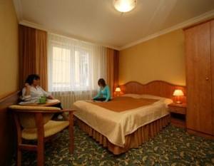 Kuren in Polen: weiters Wohnbeispiel im Hotel Polaris 2 in Swinemünde Swinoujscie