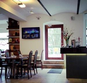 Kuren in Tschechien: Restaurant des Hotel Villa Regent in Marienbad Mariánske Lázne Westböhmen