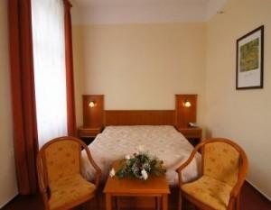 Kuren in Tschechien: Zimmerbeispiel im Hotel Reitenberger in Marienbad Marianske Lazne
