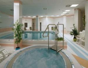 Kuren in Tschechien: Whirlpool im Hallenbad des Hotel Reitenberger in Marienbad Marianske Lazne