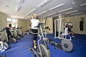 Kuren in Tschechien: Fitnessbereich im Hotel Reitenberger in Marienbad Marianske Lazne
