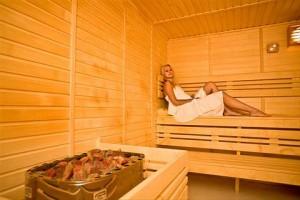 Kuren in Tschechien: Sauna im Hotel Reitenberger in Marienbad Marianske Lazne