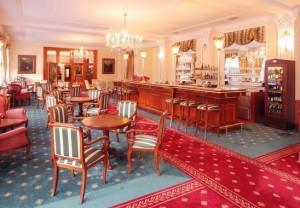 Kuren in Tschechien: Café im Parkhotel Richmond in Karlsbad Karlovy Vary